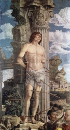 Mantegna, saint Sébastien