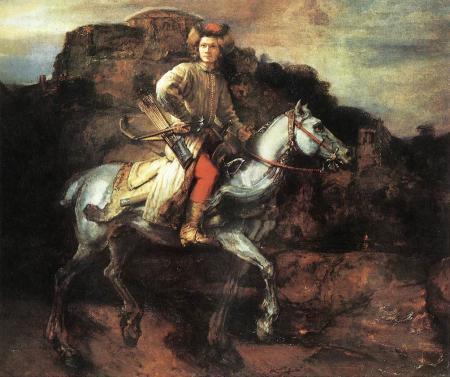 disciple de Rembrandt, Le Cavalier polonais