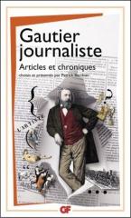 théophile gautier,gautier journaliste,articles,gf