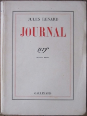 jules renard,journal,gallimard