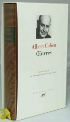 Albert Cohen Pléiade de biais.jpg