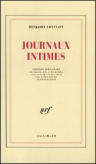 benjamin constant,journal intime