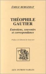 théophile gautier,émile bergerat