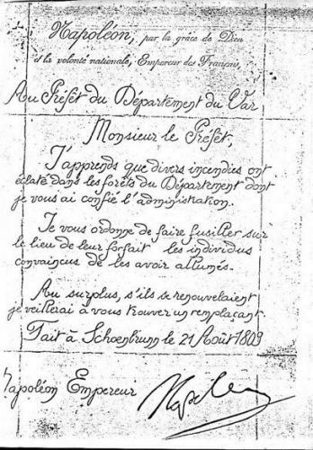 Napoléon lettre incendiaires Var.jpg