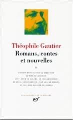 théophile gautier,romans contes et nouvelles,pléiade