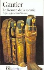 théophile gautier,le roman de la momie,folio