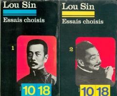 lou sin,lu xun,essais choisis,10/18