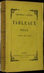théophile gautier,tableaux du siège