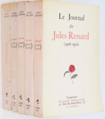 jules renard,journal,françois bernouard