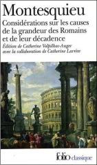 montesquieu,considérations,romains,folio,grandeur,décadence