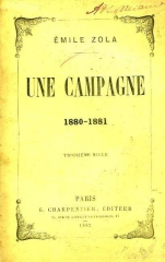 émile zola, une campagne,citations