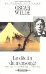 oscar wilde,aphorismes,citations,le déclin du mensonge,critique littéraire