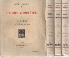 théâtre,citations,henry becque,théâtre,les corbeaux,notes d'album